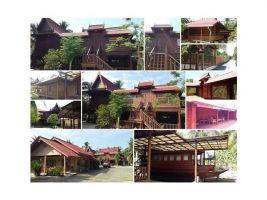 บ้านสวนทรงไทยบางคนทีเนื้อที่ 3 ไร่