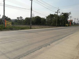 ขายที่ดิน 2 ไร่ ติดถนน ดอนตะลุมพุก-ไทรน้อย นบ 5027