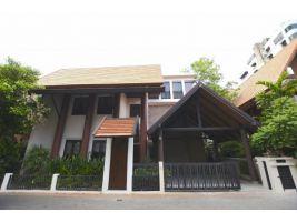 ขายบ้านเดี่ยว บ้านเรือนมณี ซอยพหลโยธิน24 บ้านหรูเรือนไทยใจกลางเมือง