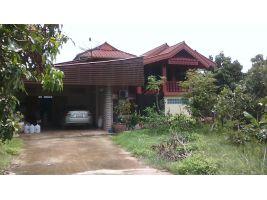 บ้านไม้สักทรงไทย 2 ชั้น 2.3 ล้าน