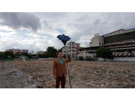 ขายที่ดินเปล่า 5-2-73ไร่  แปลงใหญ่ ใจกลางเมือง ซอย ราชวิถี 21 บางพลัด กรุงเทพ