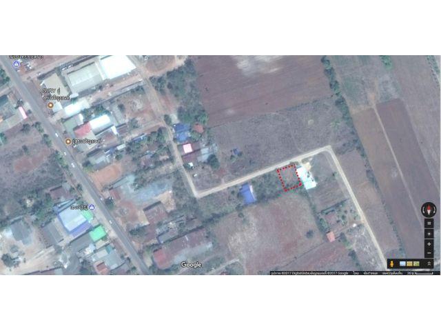 ขายที่ดิน นส.4 ในตัวอำเภอเสิงสาง ห่างจากตลาดอำเภอเสิงสาง 800 เมตร