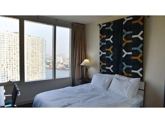 ปล่อยเช่าคอนโด watermark 94ตรม 2 นอน 2น้ำ ชั้น 25 ห้องใหม่