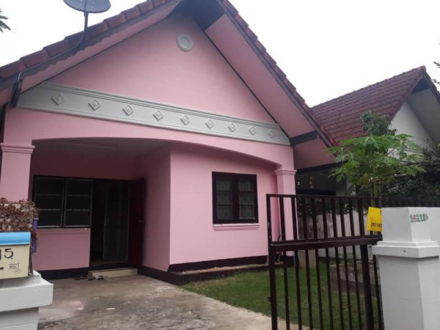 บ้านโซนดอนแก้ว แม่ริม บ้านใกล้เมือง รีโนเวทพร้อมอยูุ่ 32ตรว