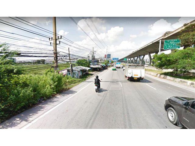 ขายที่ดิน 42 ไร่ ติดถนนบางนา-ตราด กม11 ติดรถไฟฟ้าสถานีกิ่งแก้ว