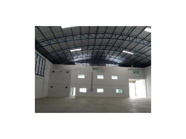 K17 ให้เช่า โรงงานพร้อมออฟฟิศสร้างใหม่ 1, 000 ตรม ใกล้นิคมบางพลี พื้นที่โกดัง 750 ตร.ม + พื้นที่ออฟฟิศ 250 ตร.ม. สูง 8.8 เมตร