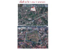ขายที่ดิน32ไร่1งานหน้าศูนย์ราชการเชียงใหม่ วงแหวนรอบ2 ที่สวยถมแล้วใกล้เมืองเข้าออกได้2ทางเหมาะทำหมู่บ้านจัดสรร