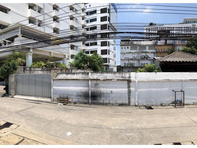 ขายที่ดินเปล่า ขนาด 103 ตร.วา ในซอยประชาราษฎร์บำเพ็ญ 1 ใกล้ MRT ห้วยขวาง