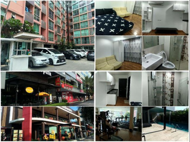 สุดคุ้ม ขาย เดอะ คริส รัชดา 17 ตึก 4 Studio 27.4 ตรม. (1,899,000 บาท)