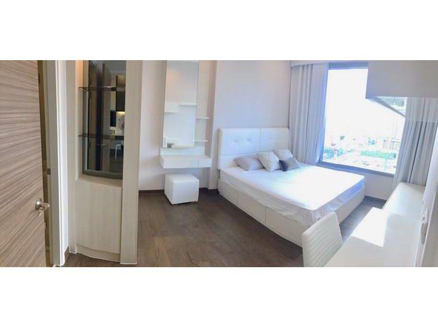 ให้เช่าคอนโด คิว อโศก  Q Asoke 45 ตรม. 1 นอน ชั้น 15  ห้องสวย ติด MRT เพชรบุรี