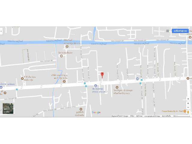 ที่ดิน 1 ไร่ 1งาน 79 ตาราวา ถนนอ่อนนุช แขวงประเวศ เขตประเวศ จังหวัดกรุงเทพ