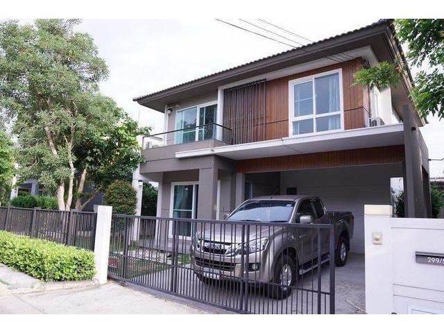 ขายบ้านเดี่ยว มัณฑนา เลค วัชรพล สุขาภิบาล5 50.3ตรว สายใหม กรุงเทพ