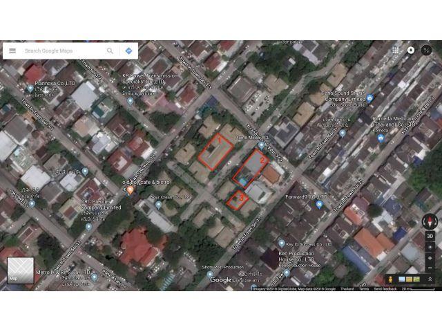 ขายที่ดินในทาวฯอินทาวน์ ซอย3/3  ที่ดินพร้อมสิ่งปลูกสร้างพร้อมเข้าอยู่หรือพร้อมใช้งาน3แปลง.