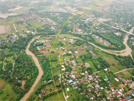 ขายที่เชียงใหม่ ติดแม่น้ำปิง ติดแนวถนนใหญ่ตัดผ่าน ราคาถูกกว่ารอบบริเวณถึง 60 เปอร์เซ็นต์