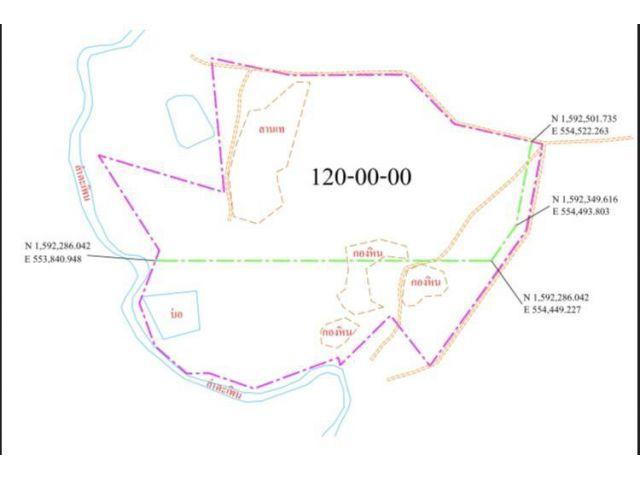 ขายที่ดิน นส3ก 120/188 ไร่ มีโฉนด บ่อพลอย กาญจนบุรี