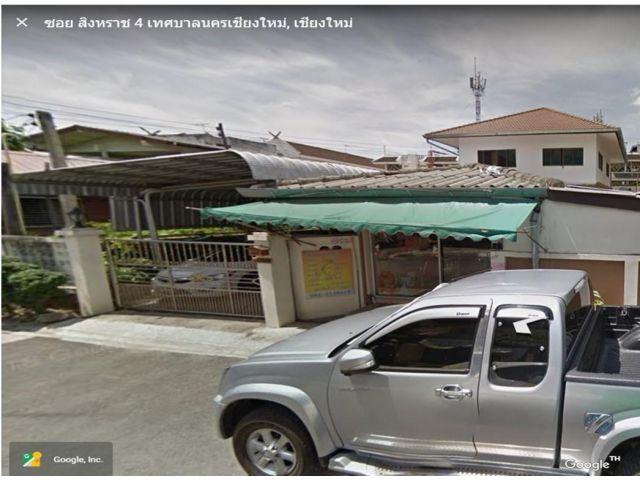 ให้เช่า -ขายที่ดินพร้อมบ้าน ใหญ่ สภาพดี ในคูเมืองเชียงใหม่ 113 ตรว. Sale Land w 1 main &2 small house in Chiangmai Old Town (Old city) Singharat soi 4