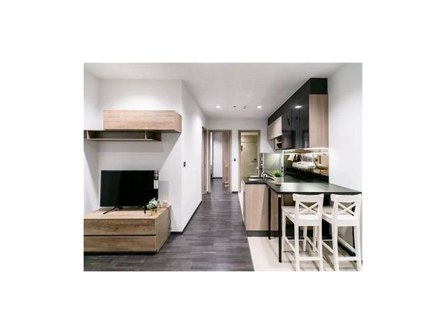 The Line Asoke-Ratchada, Rent-33K 2bed 46sqm 400m from MRT Phra Ram 9 ref-dha190109