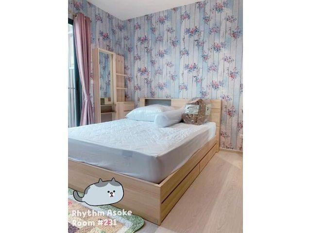 ให้เช่าคอนโด Rhythm Asoke 1 Bedroom ขนาด 31 ตรม. พร้อมเข้าอยู่