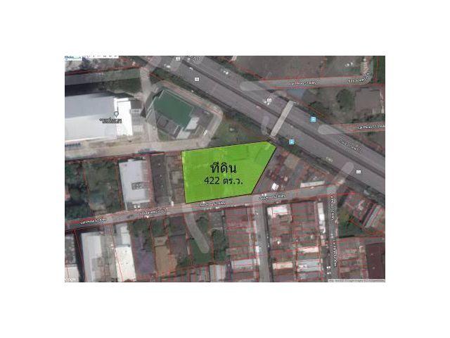 ขายที่ดินติดถนนลาดพร้าว ซ.62 เนื้อที่ 422 ตรว.