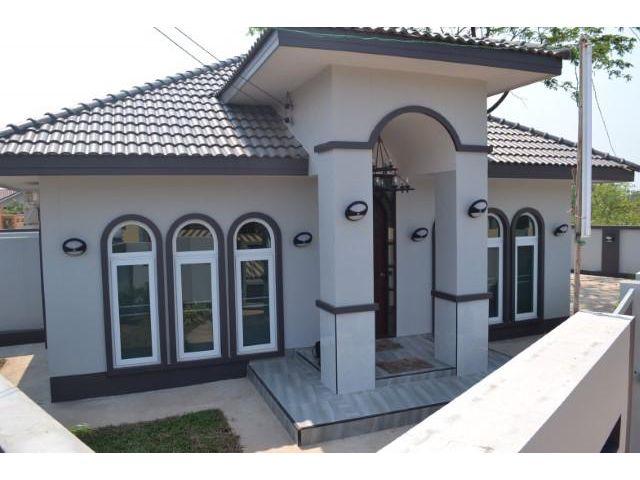 ขายบ้านตัวอย่าง บ้านใหม่สไตล์ โคโรเนียล โครงการบ้านหนองแดง หนองคาย