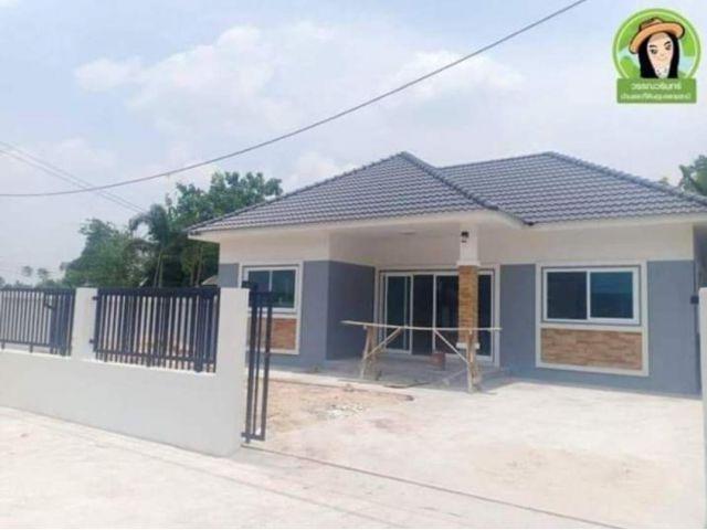 บ้านใหม่ 3 นอน 2 น้ำ  ราคา 1.49 บ้าน โซนโรงเรียนยุวทูต